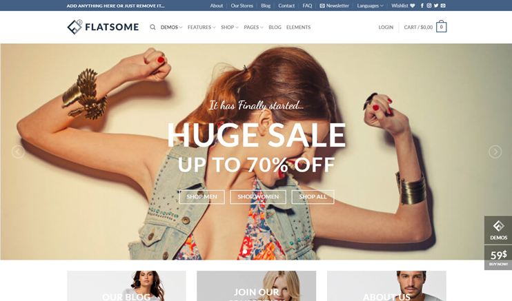 Flatsome - Responsive WooCommerce Theme at themeforest