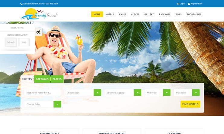 60 Best Travel Wordpress Themes For 2020 Slashwp