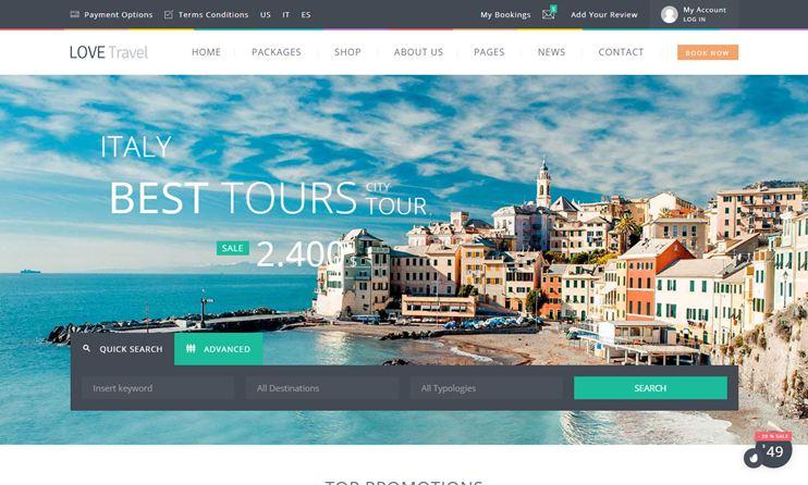 60+ Best Travel WordPress Themes for 2019 - SlashWP