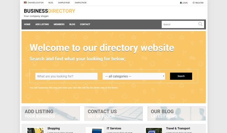 Perception of Business Affects Directory Use