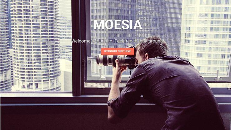 WordPress Single Page Theme Free Download