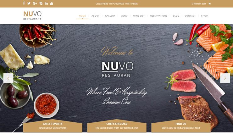 Carinderia Multiple Restaurant System Nulled Wordpress