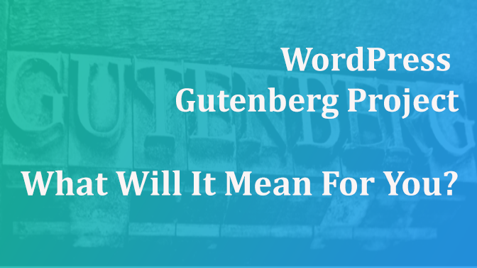 WordPress Gutenberg project