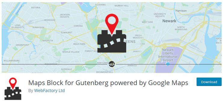 Gutenberg maps
