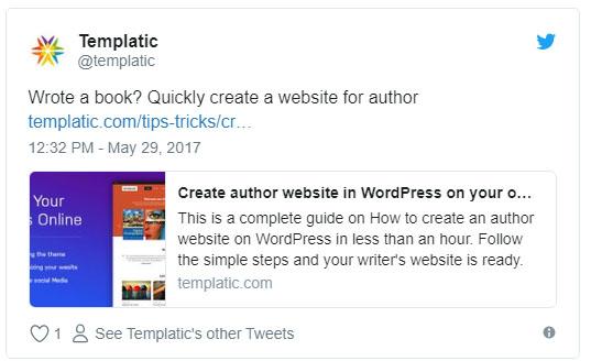 WordPress Gutenberg embed block
