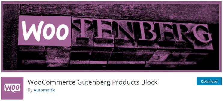woo gutenberg product block