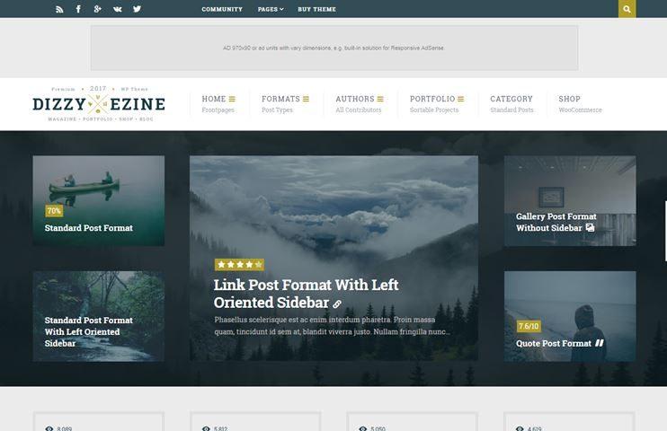 20+ Best Adsense WordPress Themes - 2018