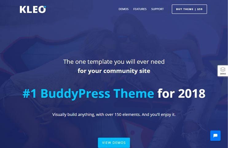 30+ Best Amazing BuddyPress WordPress Themes 2018 - SlashWP