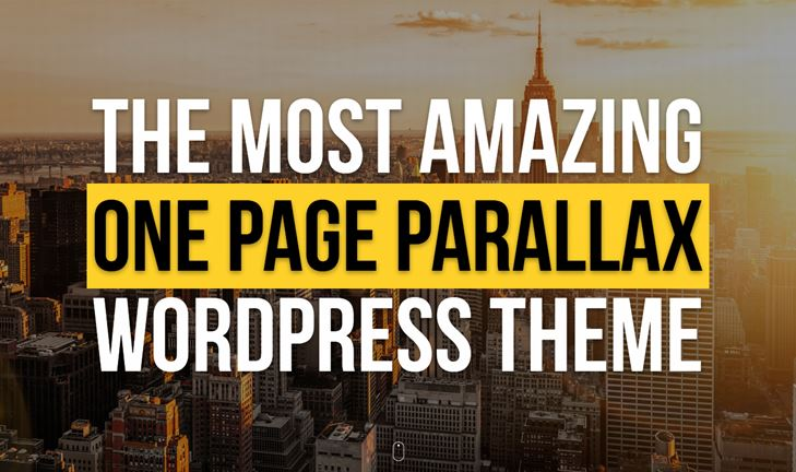 30+ Best WordPress Parallax themes to create elegant websites in ...