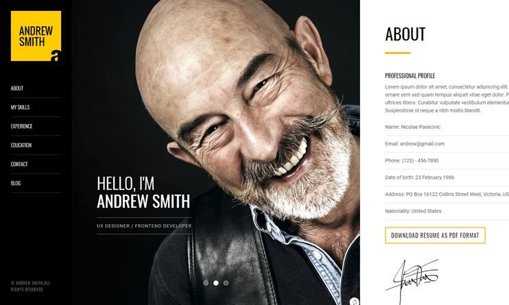 35+ Best Portfolio Themes for Photography & Photographers of