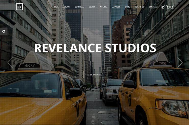 Revelance Parallax WP Theme