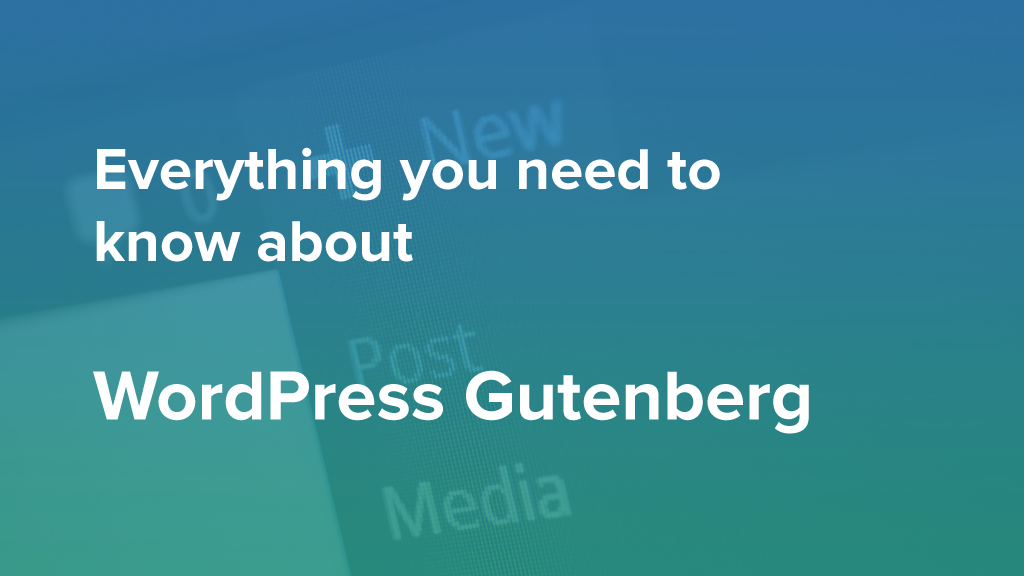 WordPress Gutenberg