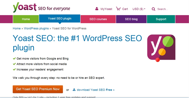 SEO tool for WordPress blog