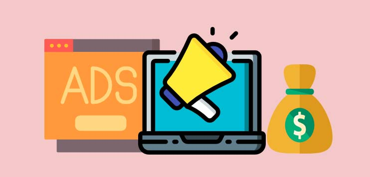 Make money blogging through advertisements