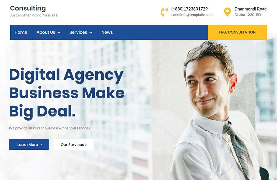 Corportate business theme