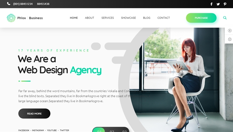 Plox pro WordPress theme