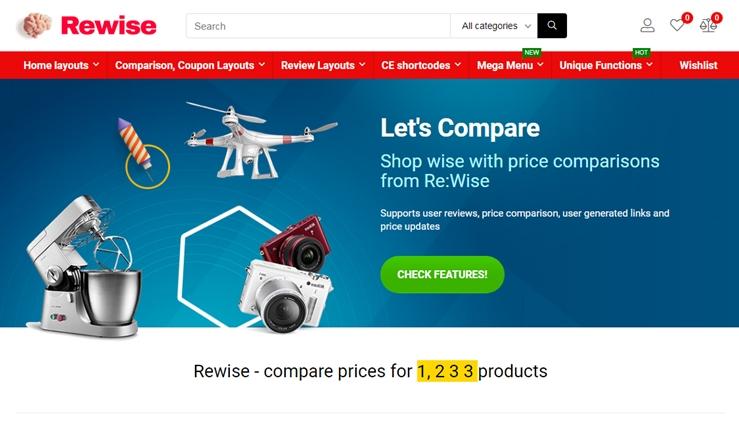 ReHub WordPress theme on Themeforest
