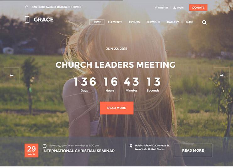 Grace church theme