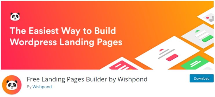Landing page drag and drop builder