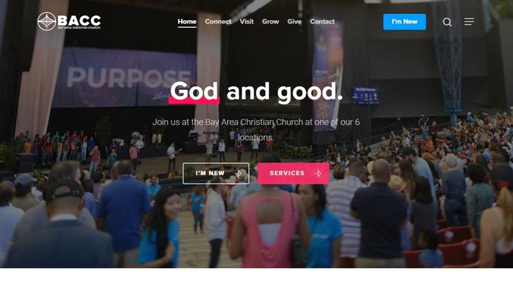 Avada Theme church website