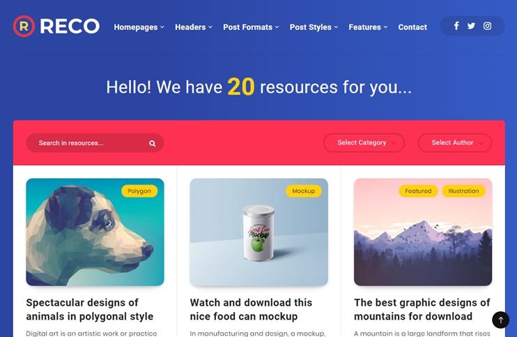 Reco - Responsive Minimal WordPress Theme, Best Premium WordPress Themes, themeforest