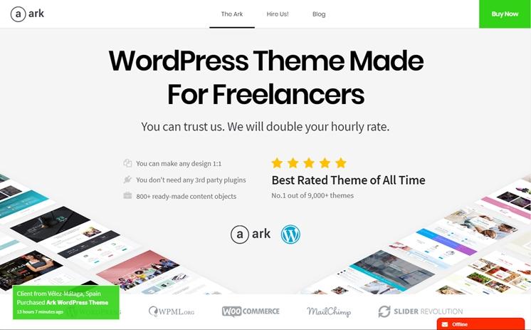 The Ark - Responsive Multi-Purpose Theme, Best Premium WordPress Themes, themeforest