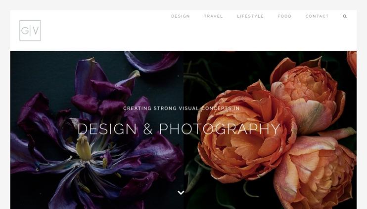 photography websites, avada theme examples