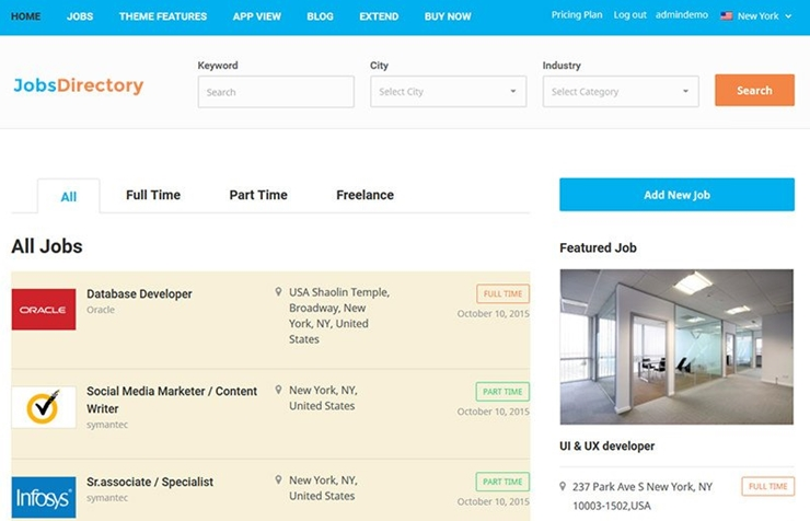 25+ Excellent WordPress Job Board Themes for 2019 - SlashWP