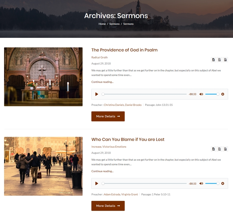 Build Church Website With WordPress In 3 Steps: Church Site