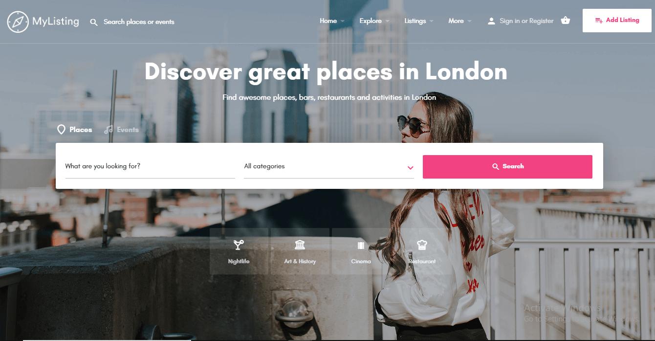 City Directory WordPress theme