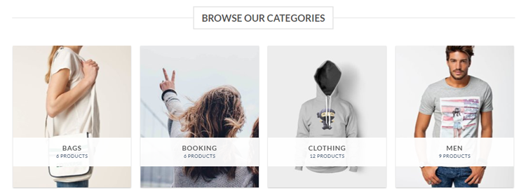 Flatsome eCommerce theme categories