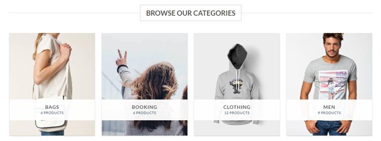 Flatsome eCommerce theme categories
