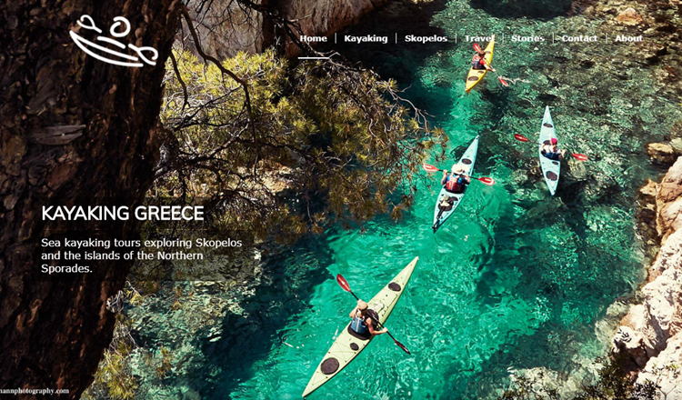 Travel website with Enfold