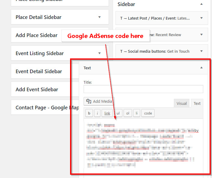 Google AdSense Code