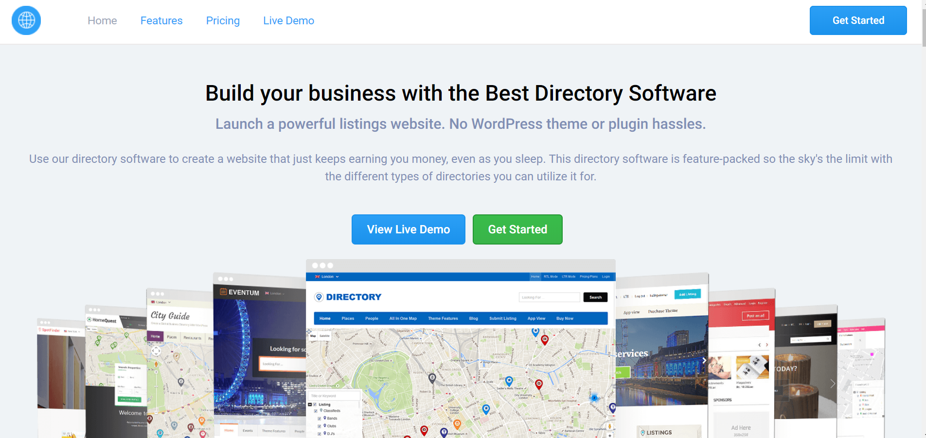 Templatic's Directory Software