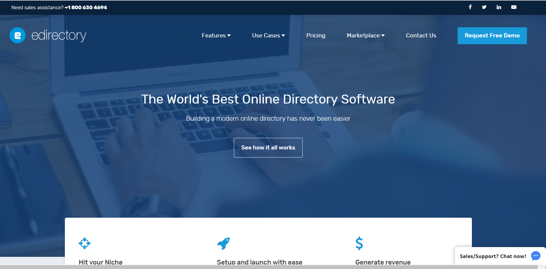eDirectory Homepage