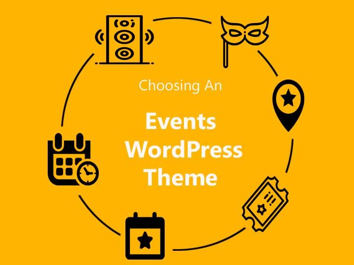 Choosing an events wordpress theme