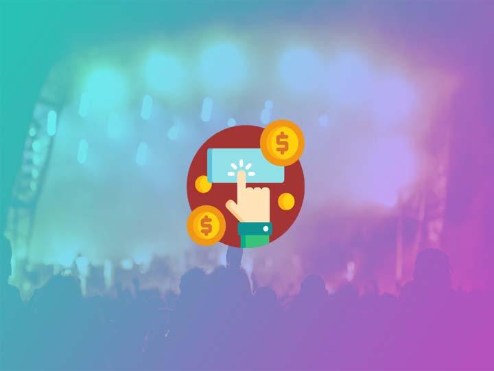 Make money through events website
