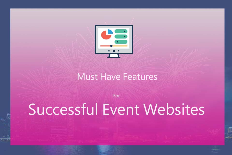 Must have features events websites