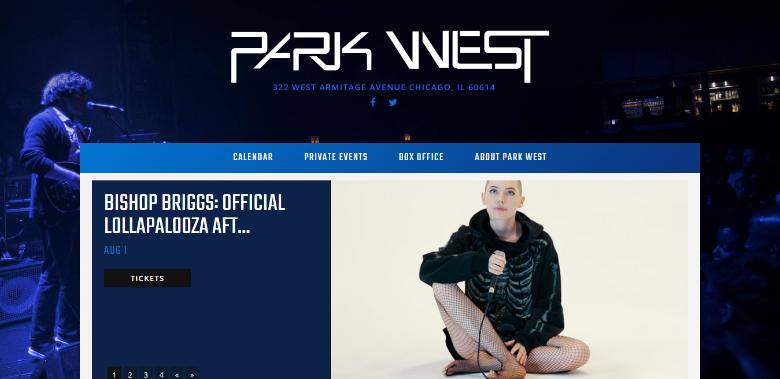 parkwestchicago events portal