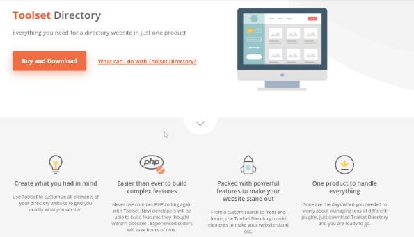 Toolset directory plugin