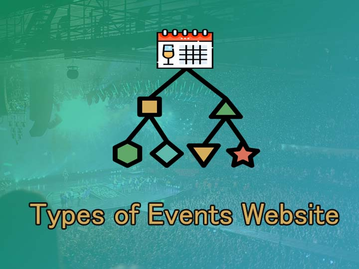 Types of events websites