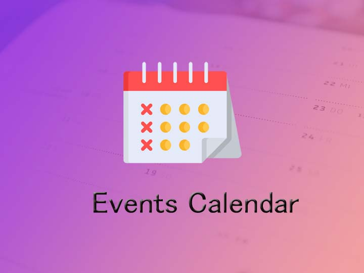 What is event calendar