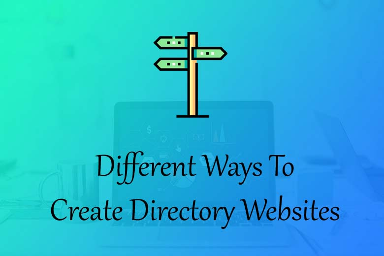 different ways to create directory websites
