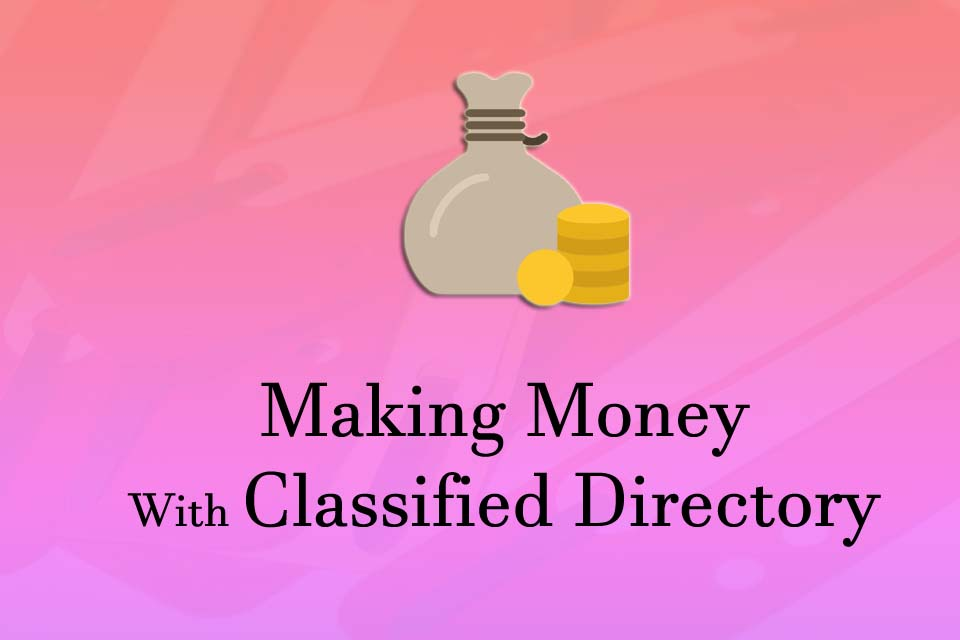 Monetize your online classified directory