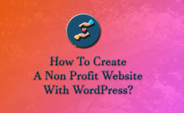 How to create non profit website