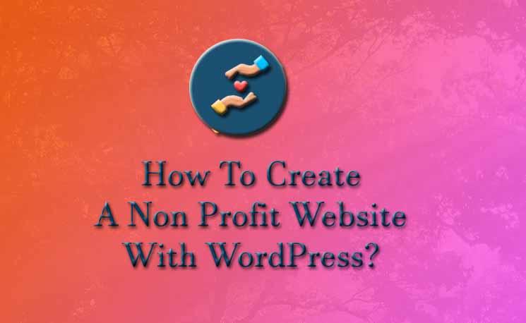 How to create non profit website