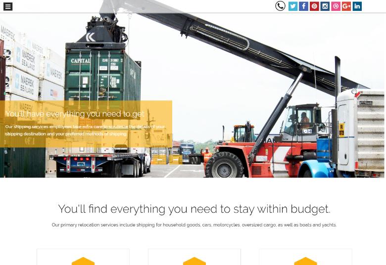 Cargo Company WP Theme