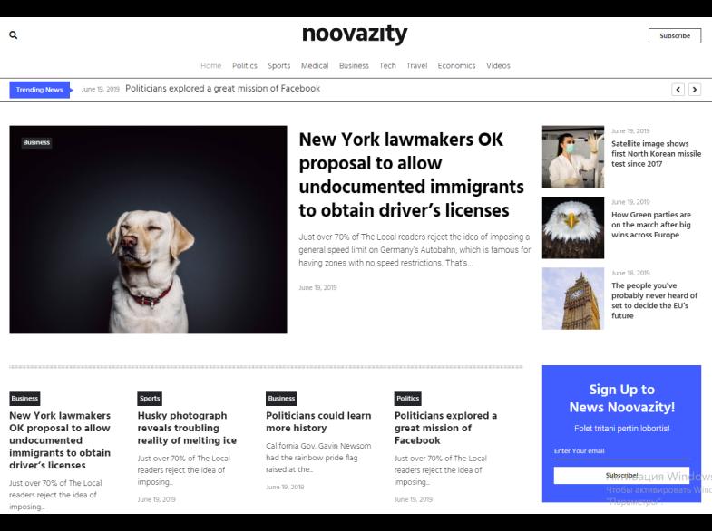 Premium-WordPress-Magazine-Theme, wordpress news magazine themes