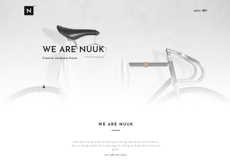Nuuk Creative Multi-purpose WP Theme